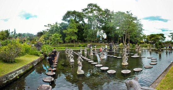 Tirta Gangga: The Stepping Stones
