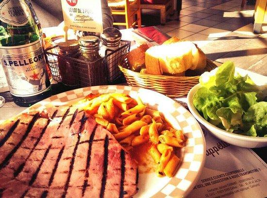 Courtepaille: grilled ham