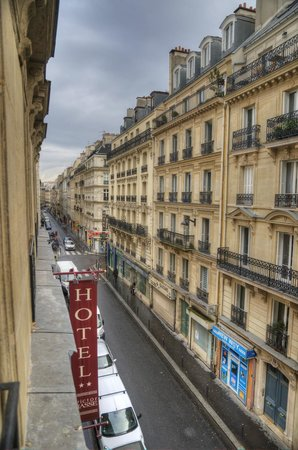 Hotel Victor Masse: вид из номера
