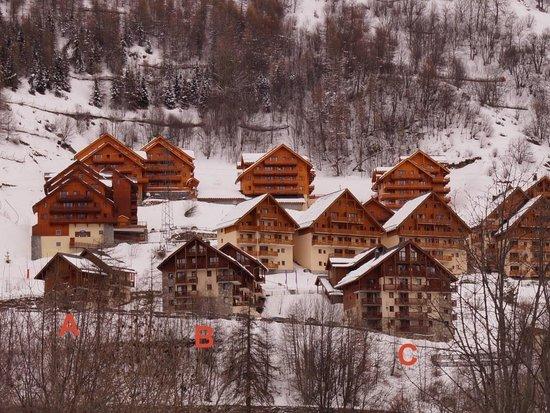 Madame Vacances Residence Les Valmonts: overzicht