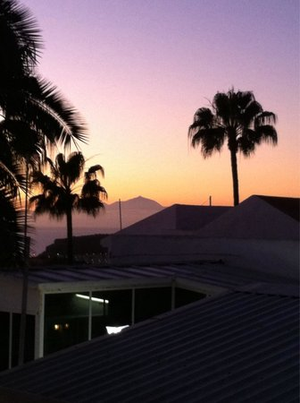 Nido del Aguila Lara Apartments: Nice view of Mount Tiede from apartments