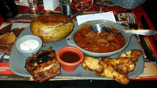 Buffalo Grill: il menu a 16,90 compresa bevanda