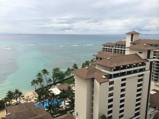 Waikiki Parc Hotel: 19階の部屋からの眺め