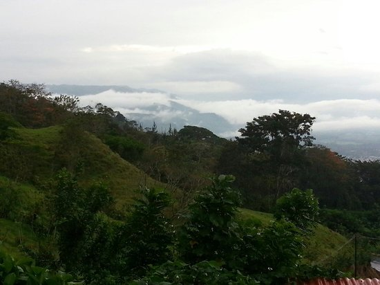La Cascada Bed and Breakfast : Beautiful Morning with a touch of cloud forest.