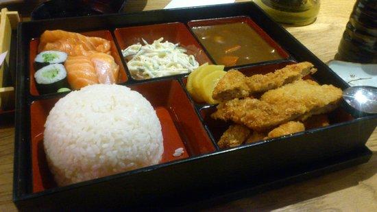 Osaka: Chicken Katsu Curry Bento Box.