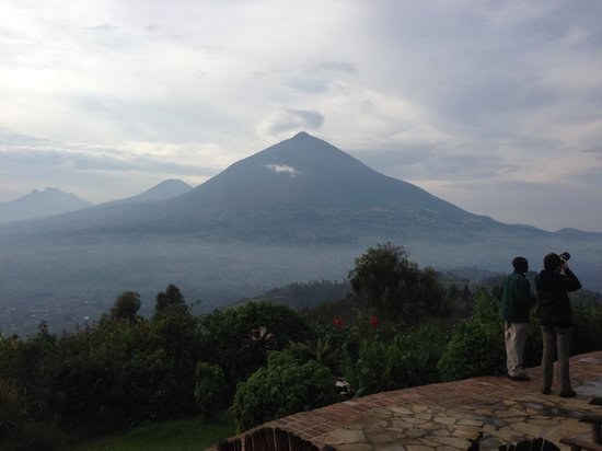 Virunga Lodge: Another view from another lodge!