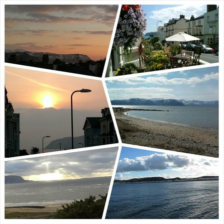 Burleigh House: Various views of beautiful Llandudno