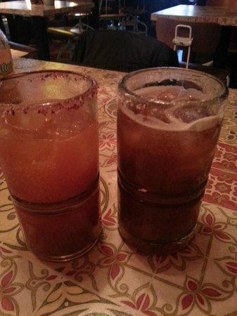 Lucha Libre: Michelada Cocktail and Pomelada Cocktail