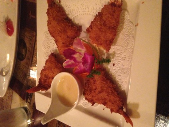 Tokyo Fresh: Coconut shrimp