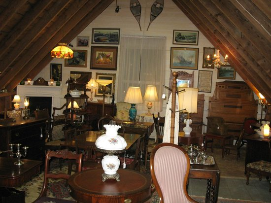 Old Ridge Antiques: Upper Level Filled with Furniture