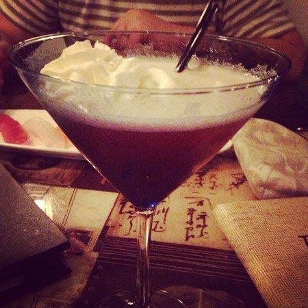 Tokyo Fresh: Strawberry shortcake Martini... Highly recommended!!