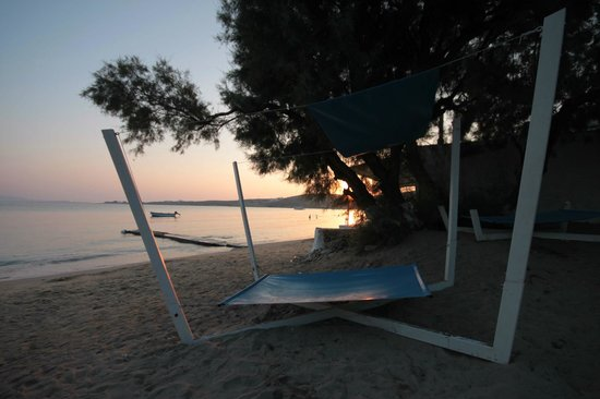 Tramonto in spiaggia krios lounge