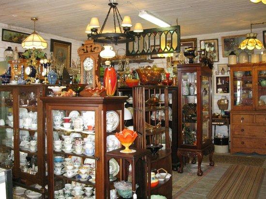 Old Ridge Antiques: Wonderful Treasures on our Main Floor