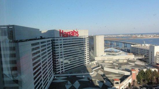 Harrah's Resort Atlantic City: Excellent view!