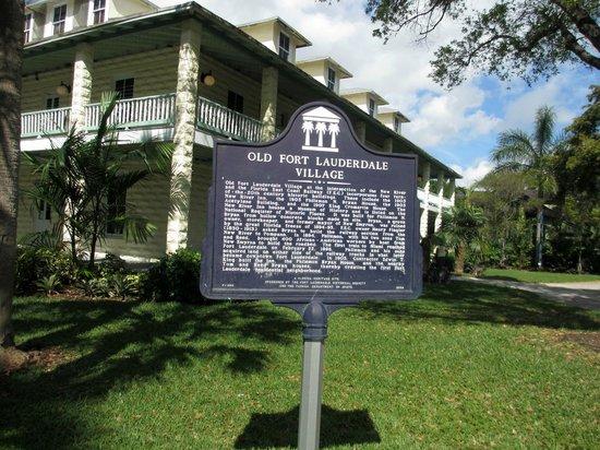 Riverwalk Fort Lauderdale: Old Fort Lauderdale