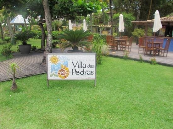 Santa Villa Restaurante: vista do restaurante e pousada.