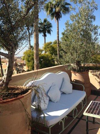 Les Jardins de la Medina: terraza