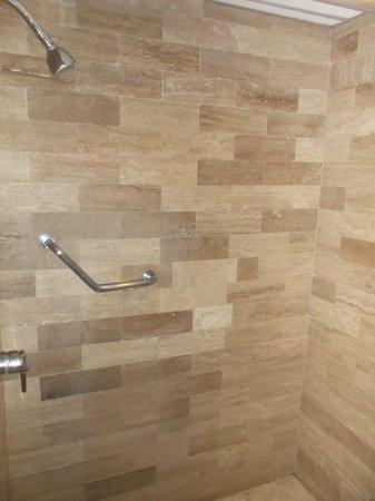 Gamma by Fiesta Inn Campeche Malecon : Grande douche avec eau chaude à profusion - 8 février 2014.