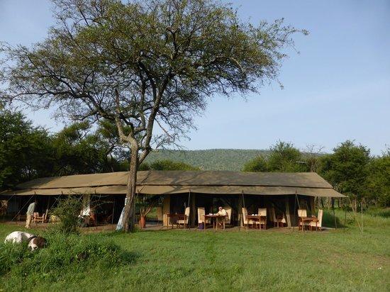 Dunia Camp, Asilia Africa: The main dining tent