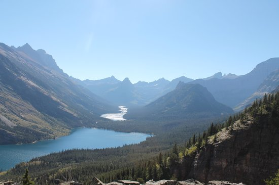 Glacier Guides and Montana Raft : View from the Bear Mountain Overlook
