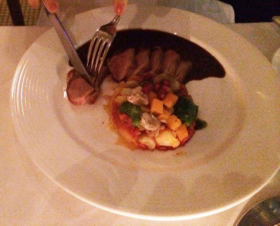L'Ecole: Pan Seared Duck Breast with Winter Vegetables