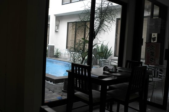 The Pejaten Suites: View from coffee house