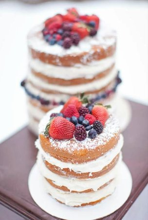 A Cupcake A Day: naked cake