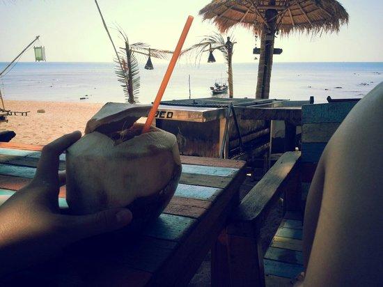 Coco Lanta Resort: cocos fruitshake!