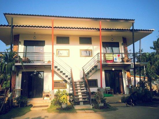 Coco Lanta Resort: familjerummen