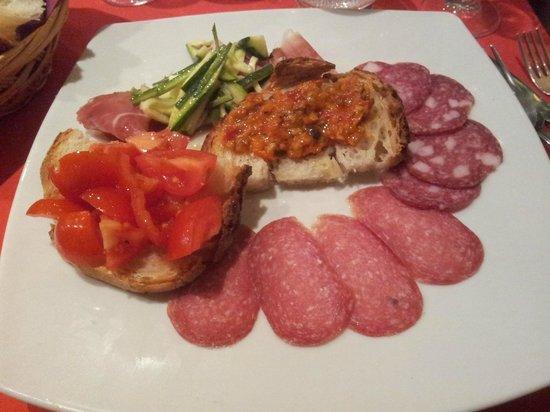 L'Allegro Bistro: antipasto di carne san valentino