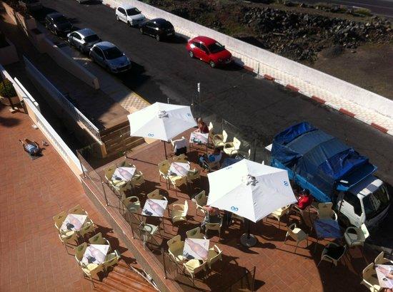 Hotel Bahia Flamingo : looking down from 401
