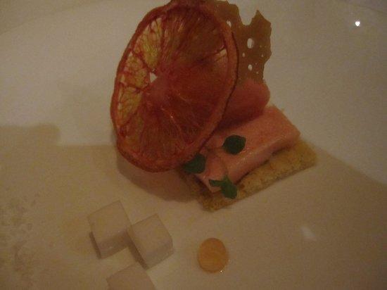 Auberge Frankenbourg : Marbré d'orange et noix de coco ...