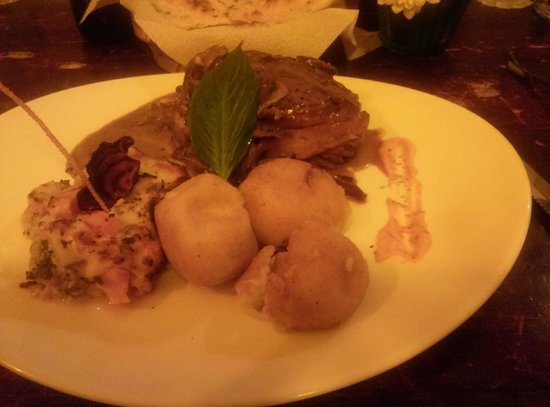 Pappardelle Ristorante: Filet Dinner