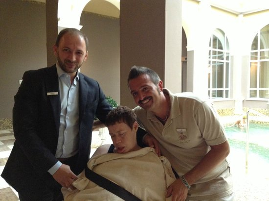Bagni di Pisa : 2nd spa, manager and staff