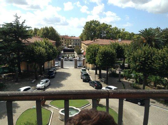 View from the bar area front of hotel foto di bagni di - Terme bagni di pisa prezzi ...