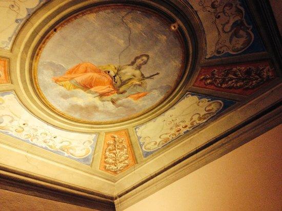 I Quattro Poeti : DecoraZione a soffitto