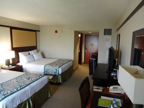 Doubletree by Hilton Orlando at SeaWorld: Tower room