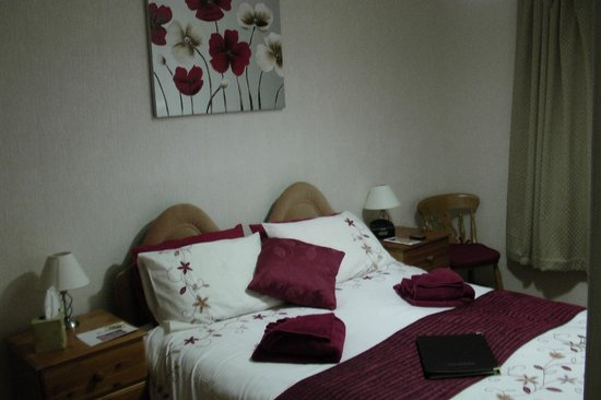 Chelmsford Place Guest House: Our room on Valentine's Day