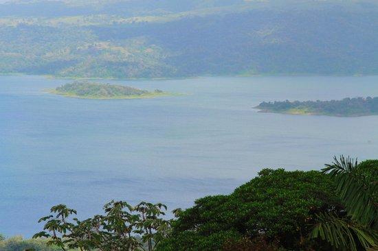 Lake Arenal: Вид сверху