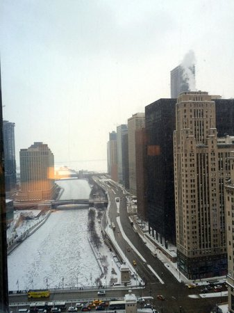 Trump International Hotel & Tower Chicago : View from the 20th floor