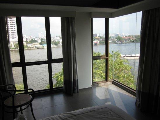 Riva Surya Bangkok: View from top floor Riva room