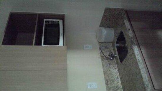 Hotel The Sun: Microondas/microwave