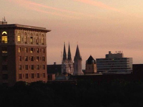 Hyatt Regency Savannah: View from roof top deck