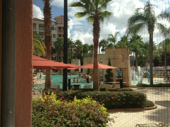 Marriott's Grande Vista: View from our patio
