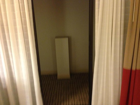 Renaissance Austin Hotel: Weird dungeon like atrium where window should be in room 216