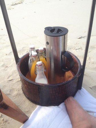 Six Senses Yao Noi : Sunrise-Frühstück am Strand