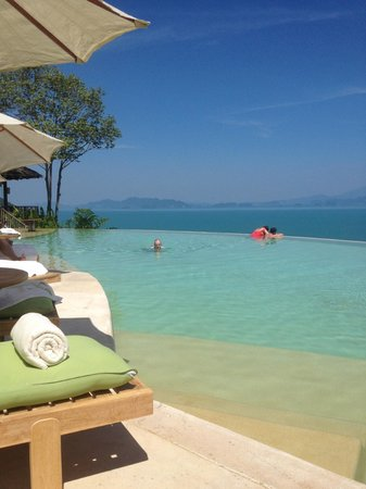 Six Senses Yao Noi : Pool beim Hilltop-Restaurant