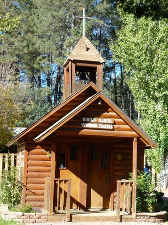 Kohl's Ranch Lodge : Chapel in the grounds
