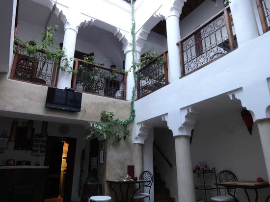 Riad Dar Saba: From the ground floor