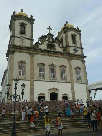 Nosso Senhor do Bonfim church : frente